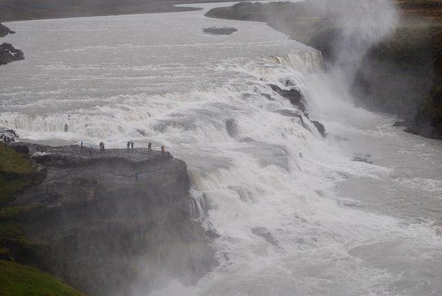 Gulfoss falls, Iceland.