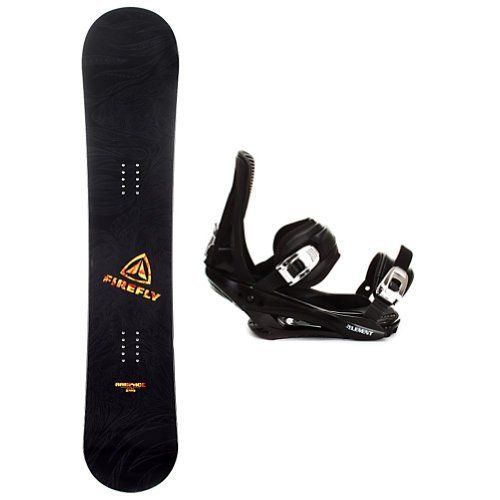 Firefly Rampage Stealth Snowboard Package by Firefly. $179.99. When you are ready to tear up the mountain pick up the Firefly Rampage Snowboard Package. The Rampage is a fun beginner board for the guy looking to shred this winter, the Rampage Firefly Snowboard will get you up on your feet and make learning the ways of the mountain simple and fun. After shredding up the slopes, you can take it over to crush the park. This board has a medium flex making it the per...