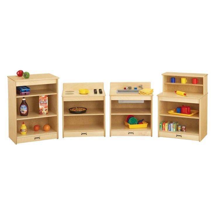 Jonti-Craft The Toddler Kitchen - Set of 4 - 4080JC