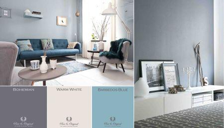 17 beste afbeeldingen over interieur idee op pinterest pastels blauwe woonkamers en huiskamers - Kleur voor de slaapkamer van de meid ...