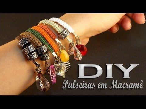 DIY: Pulseira em Macramê por Renata Nicolau                                                                                                                                                                                 Mais