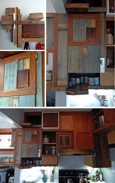 Natural Modern Interiors: Kitchen Design Ideas :: Recycled U0026 Second Hand  Kitchens