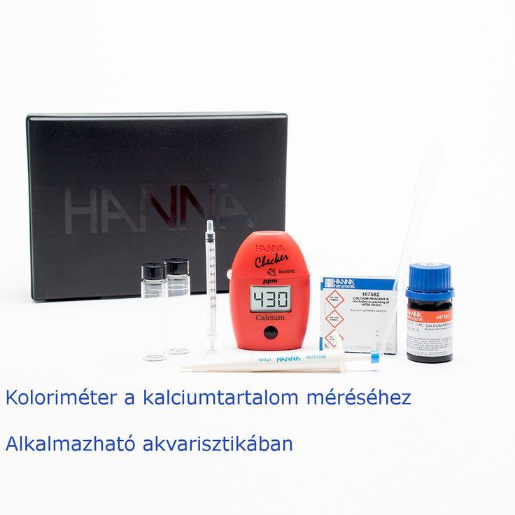 A HI758-as készülék alkalmas a kalcium koncentráció meghatározására. Ideális választás lehet tengeri akvárium vízének elemzéséhez.