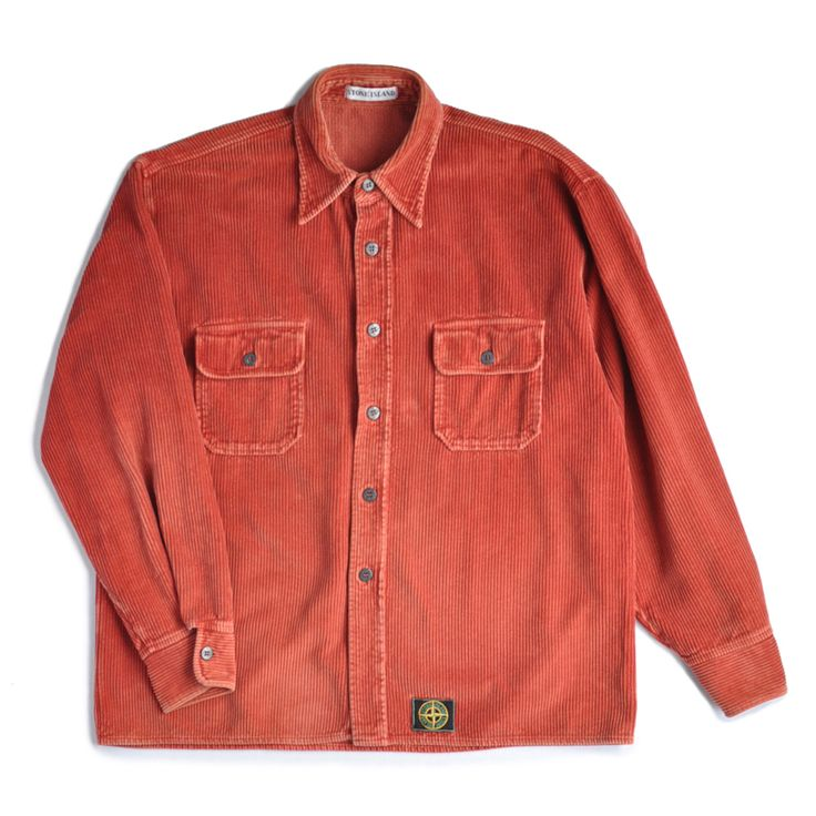 1993 STONE ISLAND HEAVY CORD SHIRT, £99.00 by Strong Look