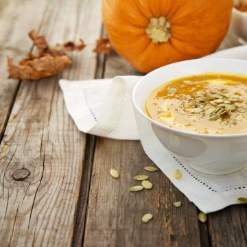 Super Easy Pumpkin Soup Recipe with Chipotle- anti inflammatory