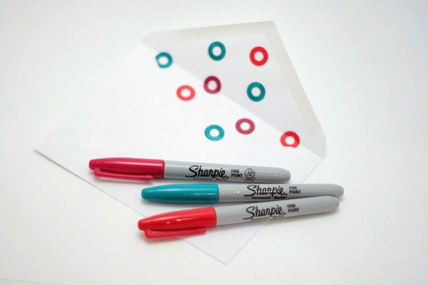 27. Envelope Lining | 34 Things You Can Improve With A Sharpie