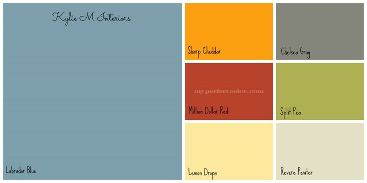 Blue boys bedroom ideas - Boys Room Colour Palette Benjamin Moore With Labrador Blue