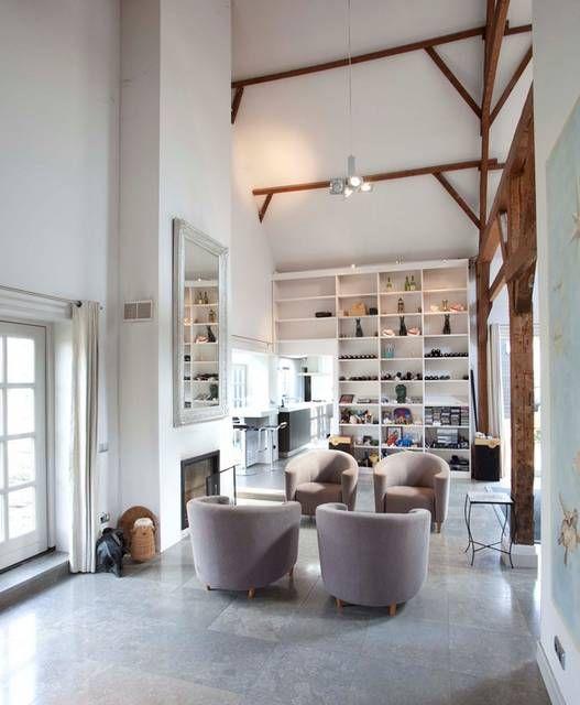 houten balk modern huis - Google Search