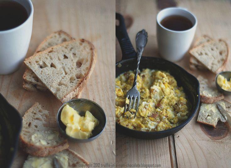 Trufla: Śniadanie bez przepisu. Jajecznica.