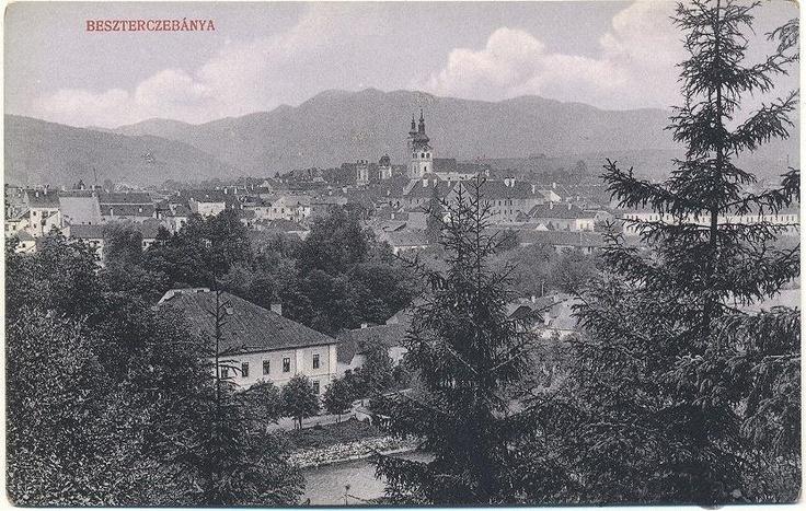 Banska Bystrica in the old days.