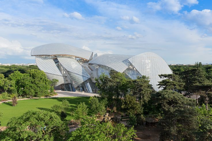 frank gehry's fondation louis vuitton opens in paris - designboom | architecture