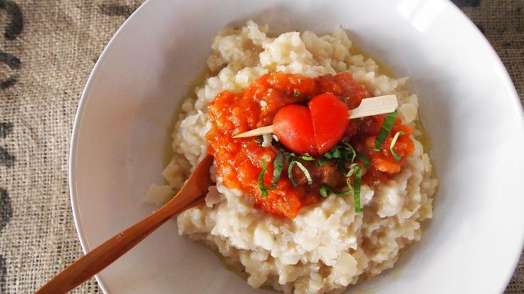 Risotto met tomatencompote | VTM Koken