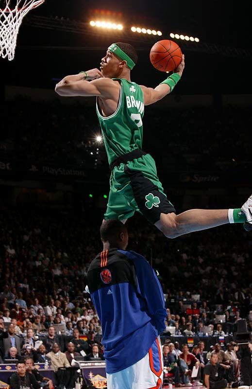 Gerald Green Boston Celtics NBA Slam Dunk Contest