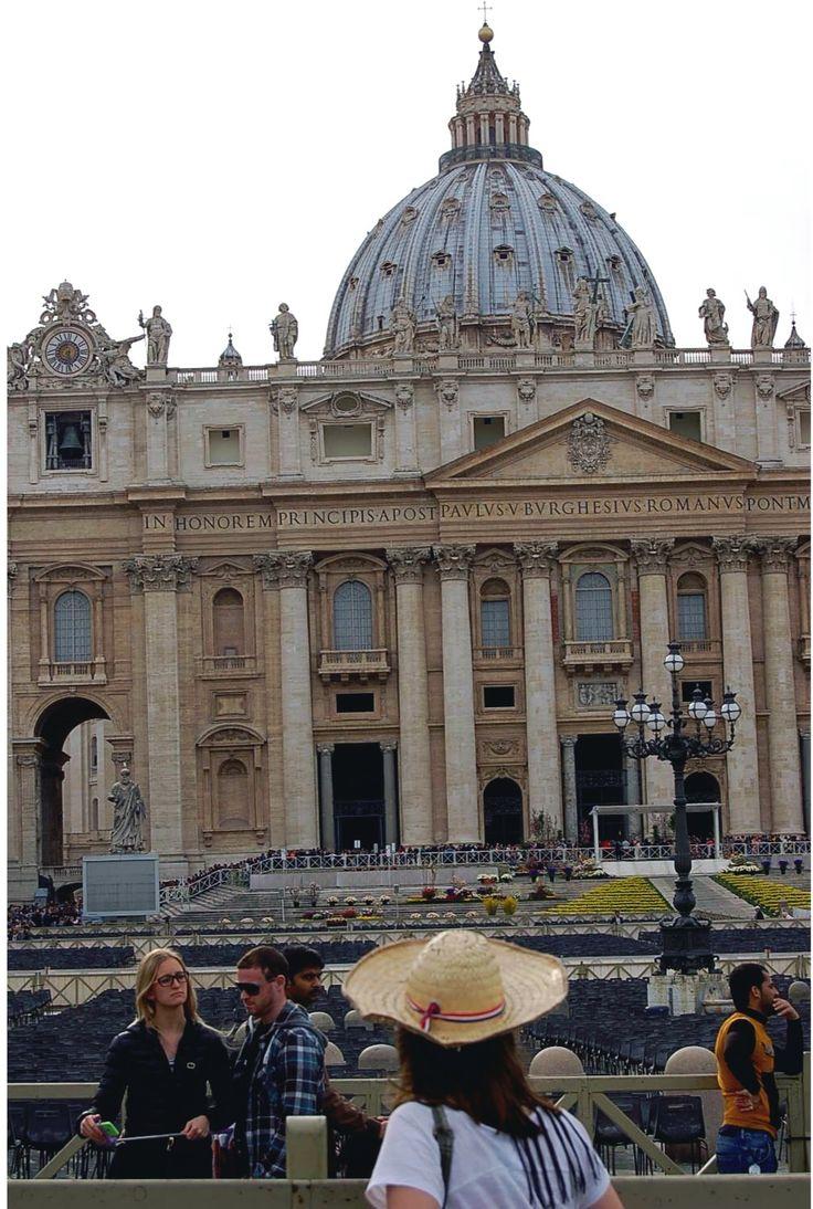 Sombrero piri por el vaticano