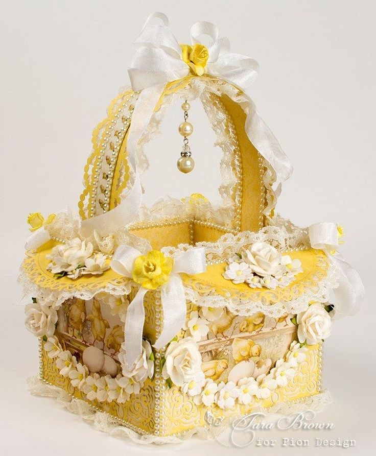 61 best easter ideas images on pinterest bunnies chocolates and today ive posted handmade chipboard easter baskets ive made for each of my four granddaughters using pion designs easter greetings collection negle Gallery
