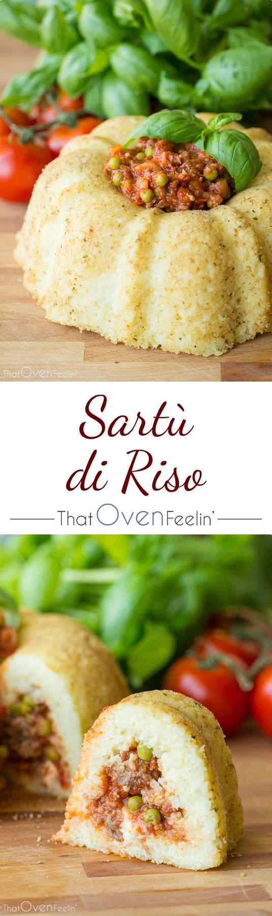 Sartù di Riso (Meatball, Sausage, and Rice Timbale)