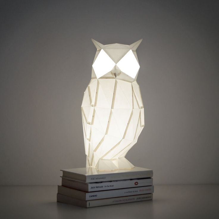 Nice Origami Inspired Animal Lamps That We Create From Paper Amazing Design