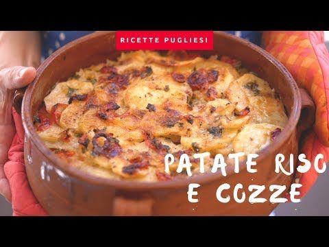 Patate Riso e Cozze | Ricetta originale della tiella alla barese - YouTube