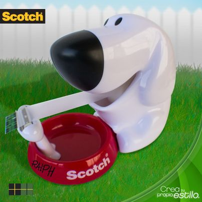 Conoce este simpático dispensador Scotch®