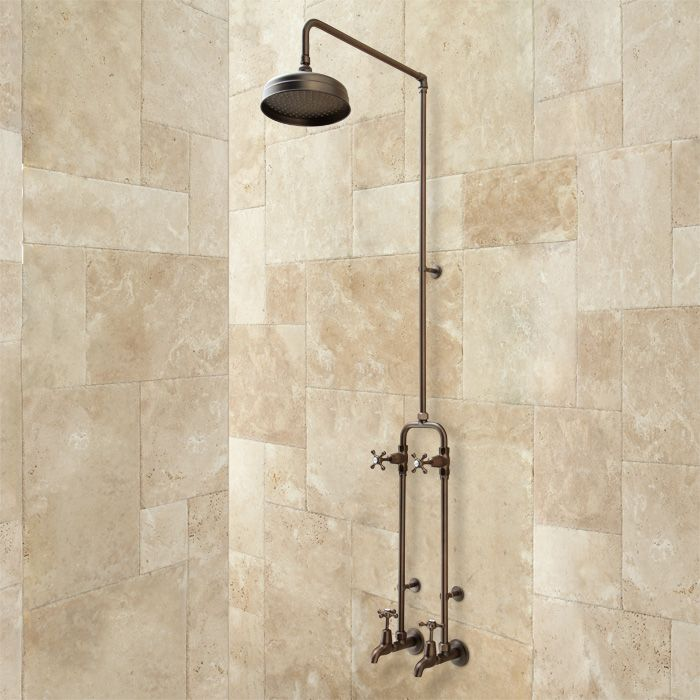 38 best images about exposed copper pipe for mud room wet for Copper pipe shower