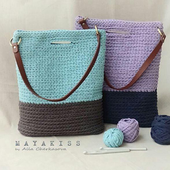 Apaixonada nessas bolsas!!! By Alla Cherkasova.