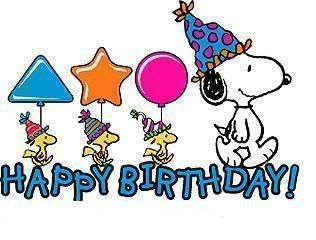 Happy Birthday! Snoopy