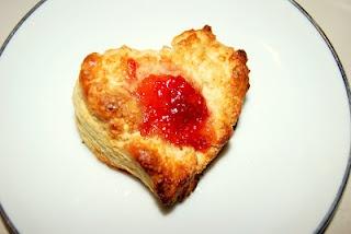 Sweet Scone Hearts