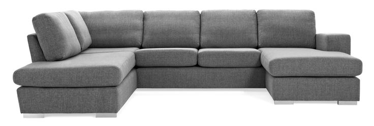 Friday är en rymlig soffa med bra komfort och lite högre ryggstöd. Denna variant är en 3-sits soffa med divan till vänster och schäslong till höger. Du kan välja på olika armstöd och på mjuka kuddar i ryggen eller lite fastare plymåer. Friday finns att få i många tyger, läder och färgkombinationer, med låga eller höga ben. De högre benen underlättar vid städning, samtidigt som det blir lättare att resa sig ur soffan. Köp gärna till en eller flera nackkuddar.