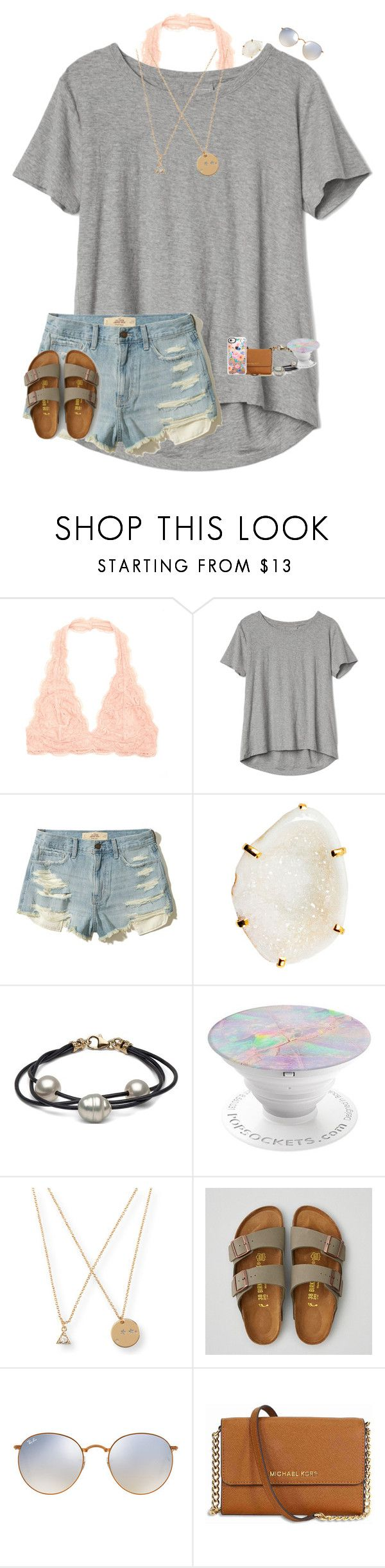 """•orientation tonight•"" by mackenzielacy814 on Polyvore featuring Gap, Hollister Co., Zara Taylor, Aéropostale, American Eagle Outfitters, Ray-Ban, Michael Kors and Casetify"