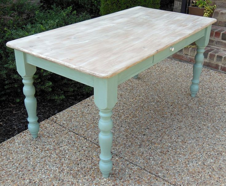 Portfolio-Tables   Uniquely Yours... or Mine!