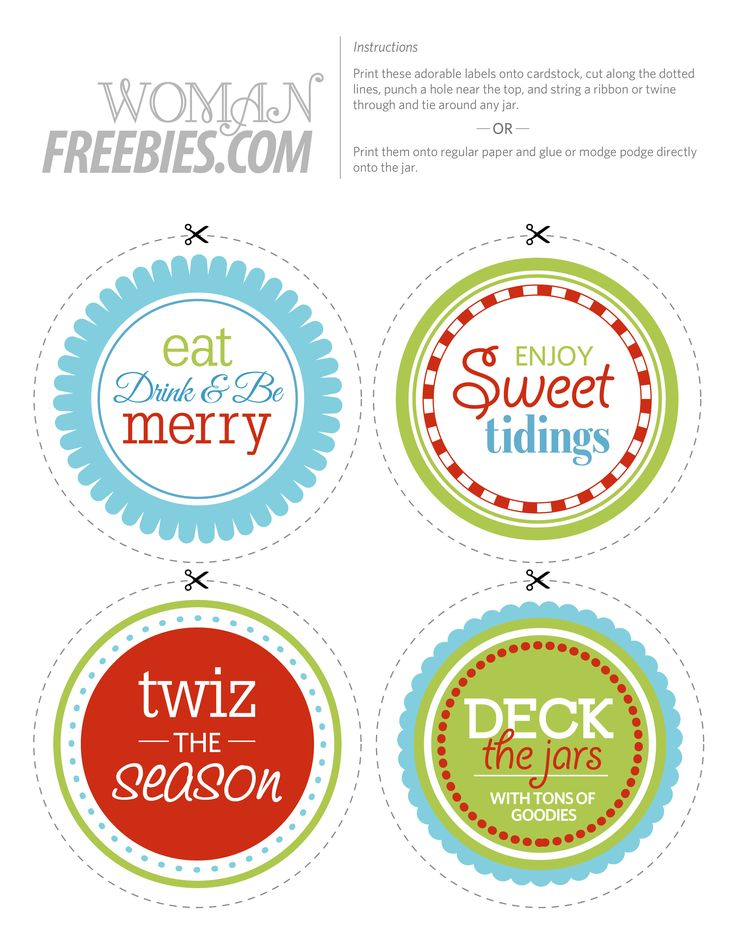 halloween jar circular label | Free Printable Candy Jar Labels