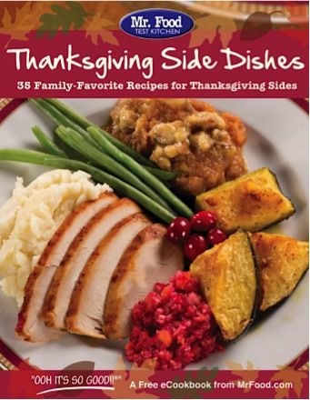 FREE e-Cookbook: 35 Family-Favorite Thanksgiving Side Dishes! #recipes