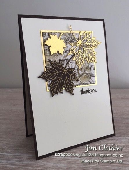 Scrapbooking Stuff - SU - Stamps: Colorful Seasons, Thoughtful Banners