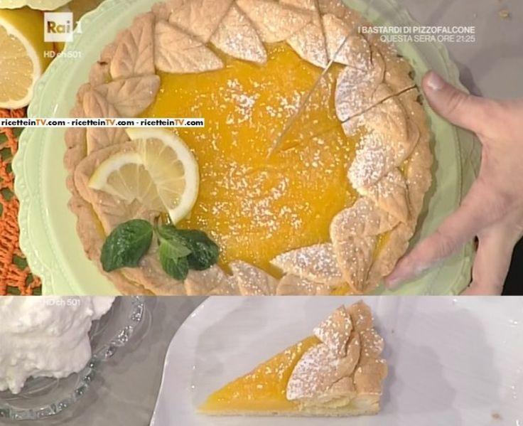 La prova del cuoco | Ricetta torta con crema al limone di Natalia Cattelani