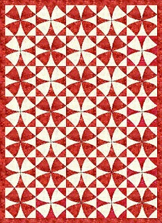 Winding Ways/Wheel of Mystery Quilt