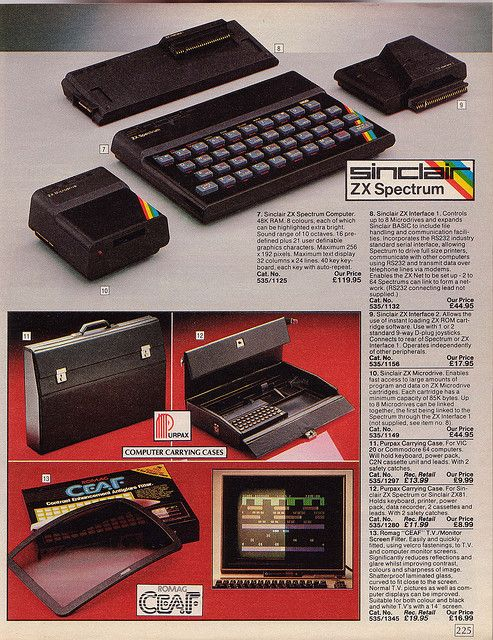 Sinclair ZX Spectrum: Vintage British Argos 1985 Catalogue