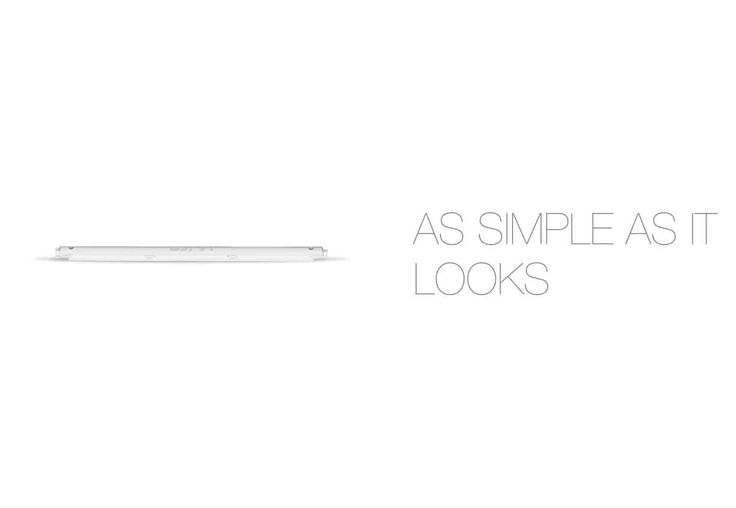 Our approach towards #minimalism is sincere . Presenting #Tube #Tubelight #Corvi #LED #light
