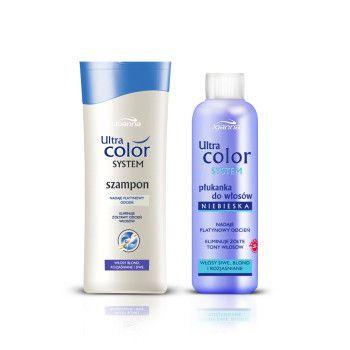 Linia pielęgnacyjna Ultra Color System stworzona jest dla kobiet, które farbują włosy i potrzebują specjalnej pielęgnacji koloru.  Szampony i odżywki zapewnią świeży kolor i naturalny wygląd farbowanym włosom.
