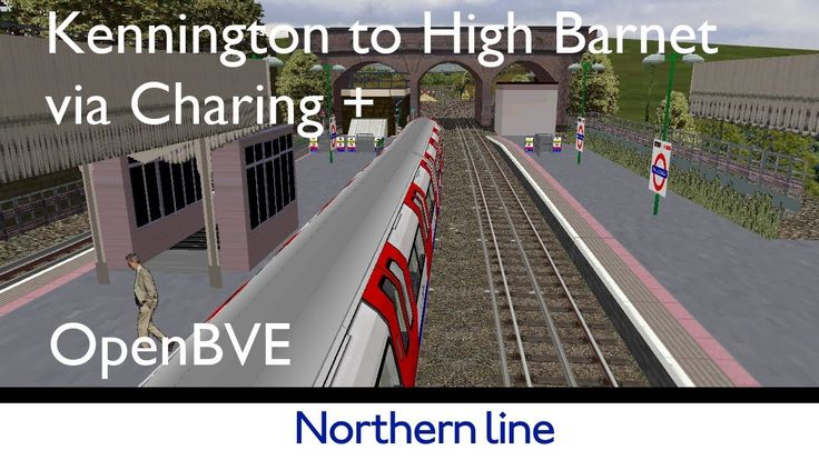 London Underground Simulator|OpenBVE Northern Line #underground #londonunderground #tube #1995ts #northernline #simulator #simulation #trainsim #openbve #tubetrains #londontransport #london