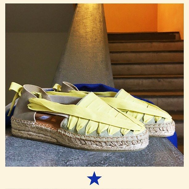 Are you ready for weekend holiday? @naguisa_design yellow espadrillas are magic ⭐️ #bacomilano #shopping #milano #shop #shopourinstagram #shoponline #shoplocal #fashion #instafashion #girl #womanstyle #womanfashion #styles #style #fashionmagazine #ss17collection  #spring #summer #summershoes #shoes #espadrillas #espadrilles #naguisadesign