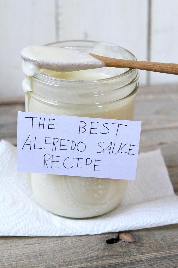 Best Alfredo Sauce Recipe from RecipeBoy.com