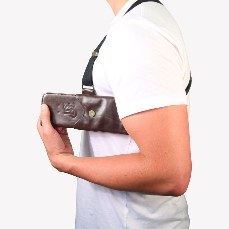 The Original LD West® Holster (T-FIT) - Brown - LD West