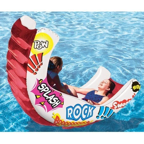 Out Sway Your Partner In This Rocking Swimming Pool Toy