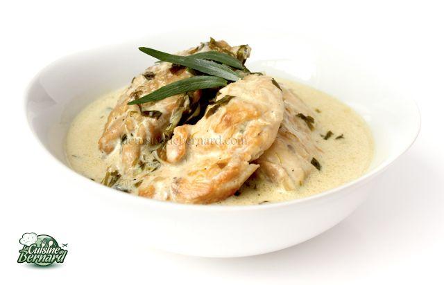 La Cuisine de Bernard: Le Poulet à l'Estragon