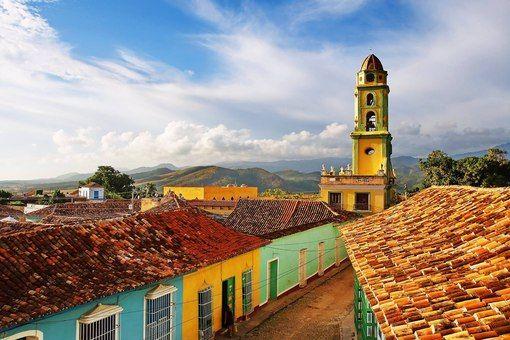 Город Тринидад - Куба