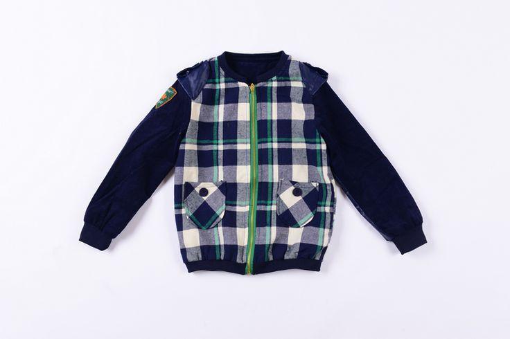 Cool Plaid Jacket – Poppatosh