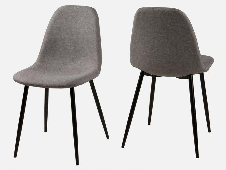 Krzesło Wilma jasnoszare — Krzesła w Sklepie Mebelio™