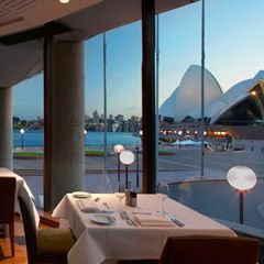 ARIA Sydney is situated on the very edge of Sydney Harbour. It is owned and operated by Matthew Moran and Peter Sullivan. ARIA provides a dining experience that encapsulates Sydney lifestyle, offering panoramic views of Sydney Harbour.