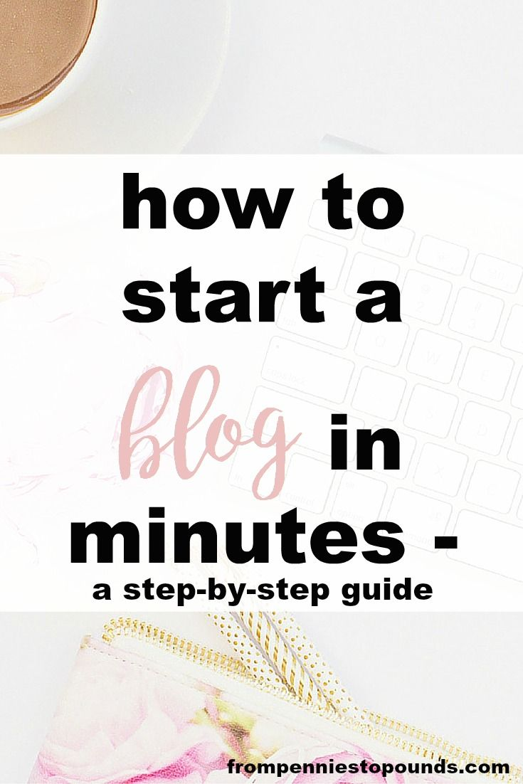 Want to start a blog? Make money from home with a blog - here is a step-by-step tutorial for how to start a Wordpress blog: http://www.frompenniestopounds.com/how-to-start-a-blog/