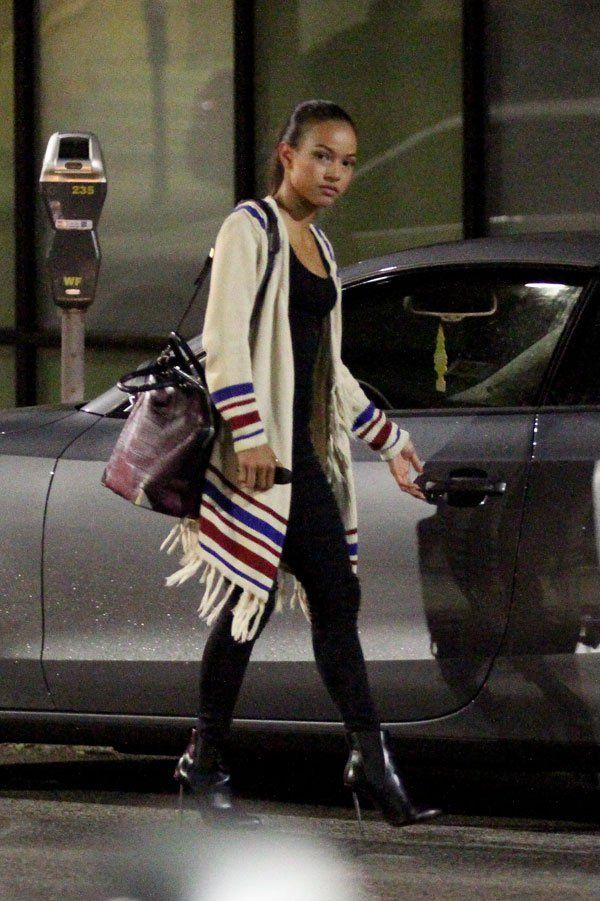 Karrueche Tran Date Without Chris Brown 07 Trans Outfit